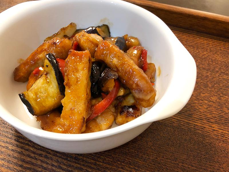 クラシルミールキットの三元豚と3種の野菜でボリューム満点 黒酢の酢豚